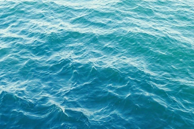 Vagues en mer