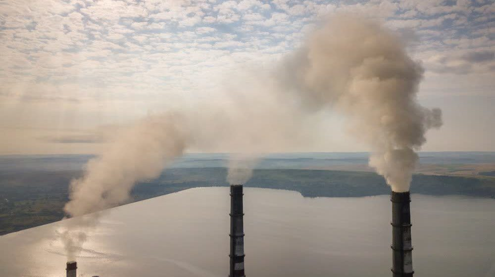 Émissions de gaz des usines